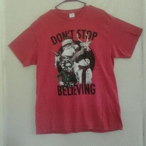 Other - 3/$25 Men's Red Size L Graphic T Christmas
